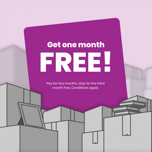 One month free special!